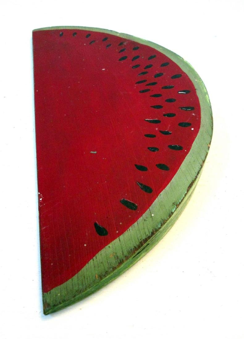 Vintage Carved Watermelon Slice - 7