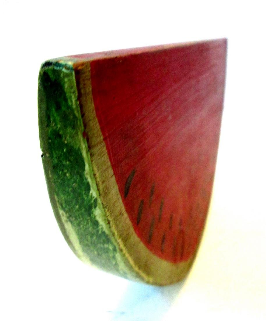 Vintage Carved Watermelon Slice - 8