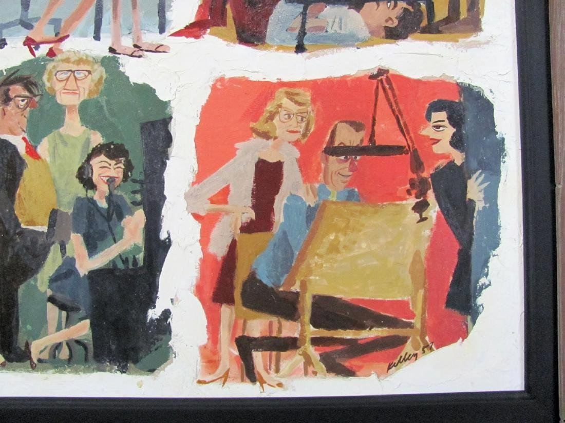 Mad Men Painting of Advertising Agency by Kelley - 4