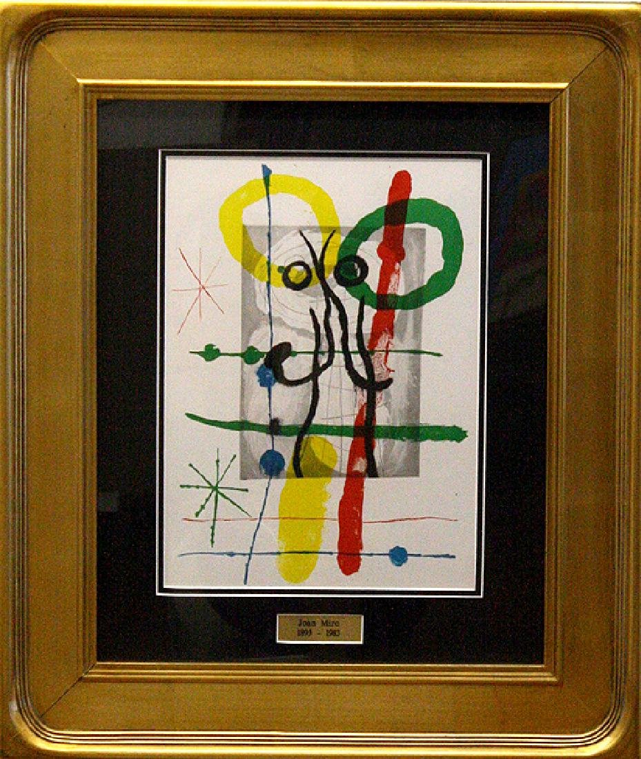Cartoons II by Joan Miro