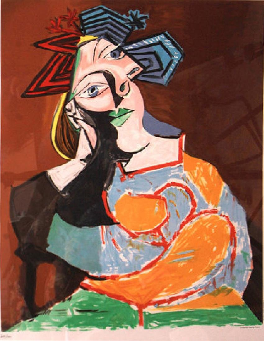 Femme Accoudee (Leaning Woman, 1937) by Pablo Picasso - 2
