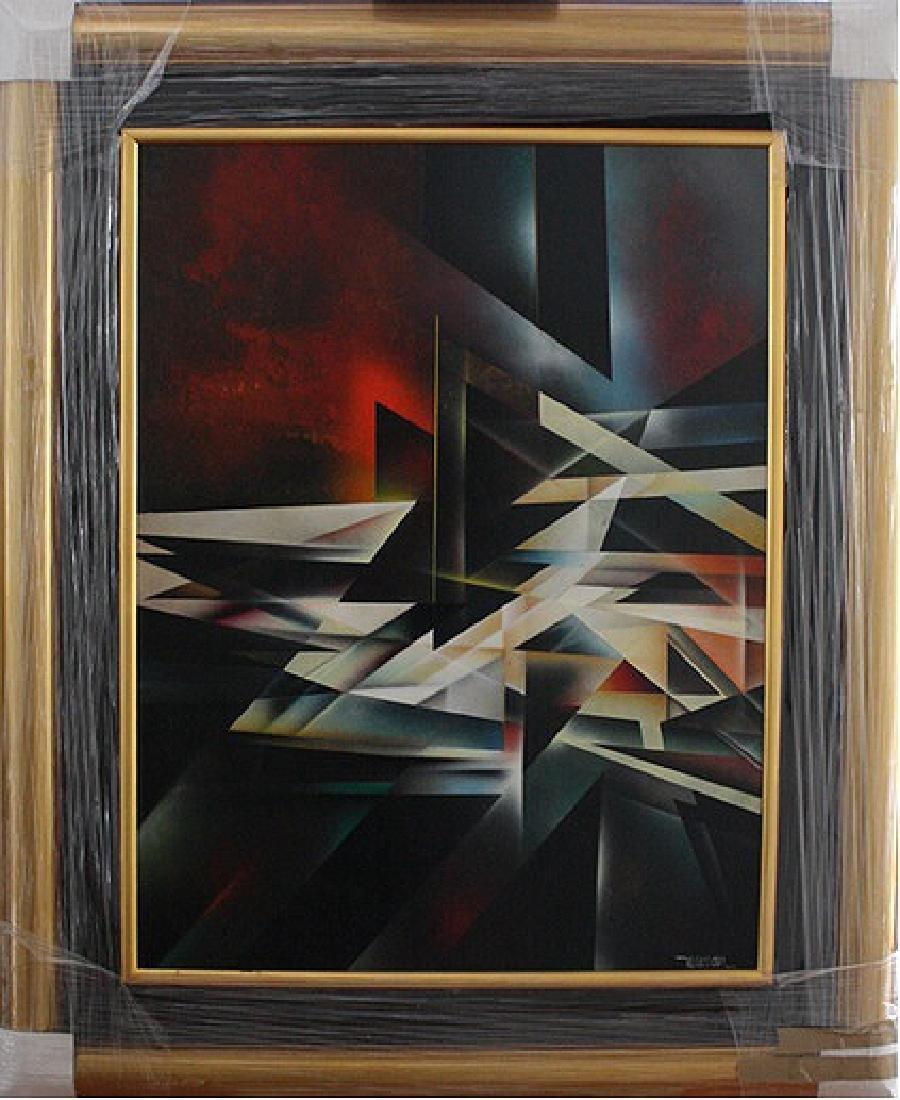 Geometrical Abstract by Leonardo Nierman - 2