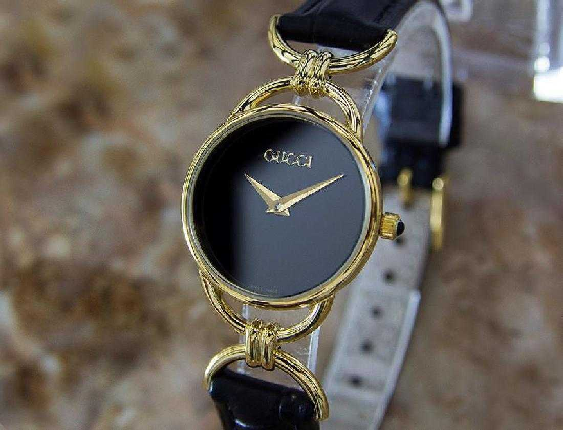 1d66424e16d Gucci Swiss Made Ladies Gold Plated Quartz Watch