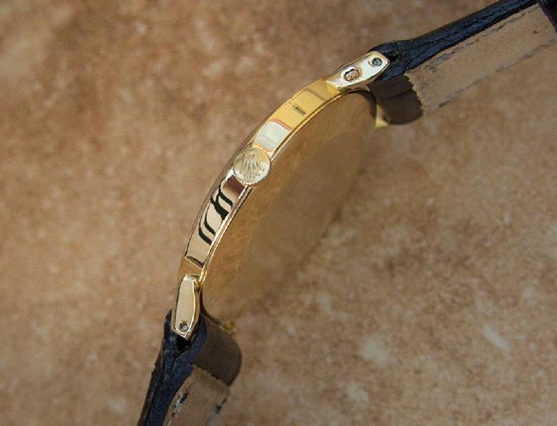 Vintage Rolex Cellini 18K Solid Gold 1970s Mens Watch - 4