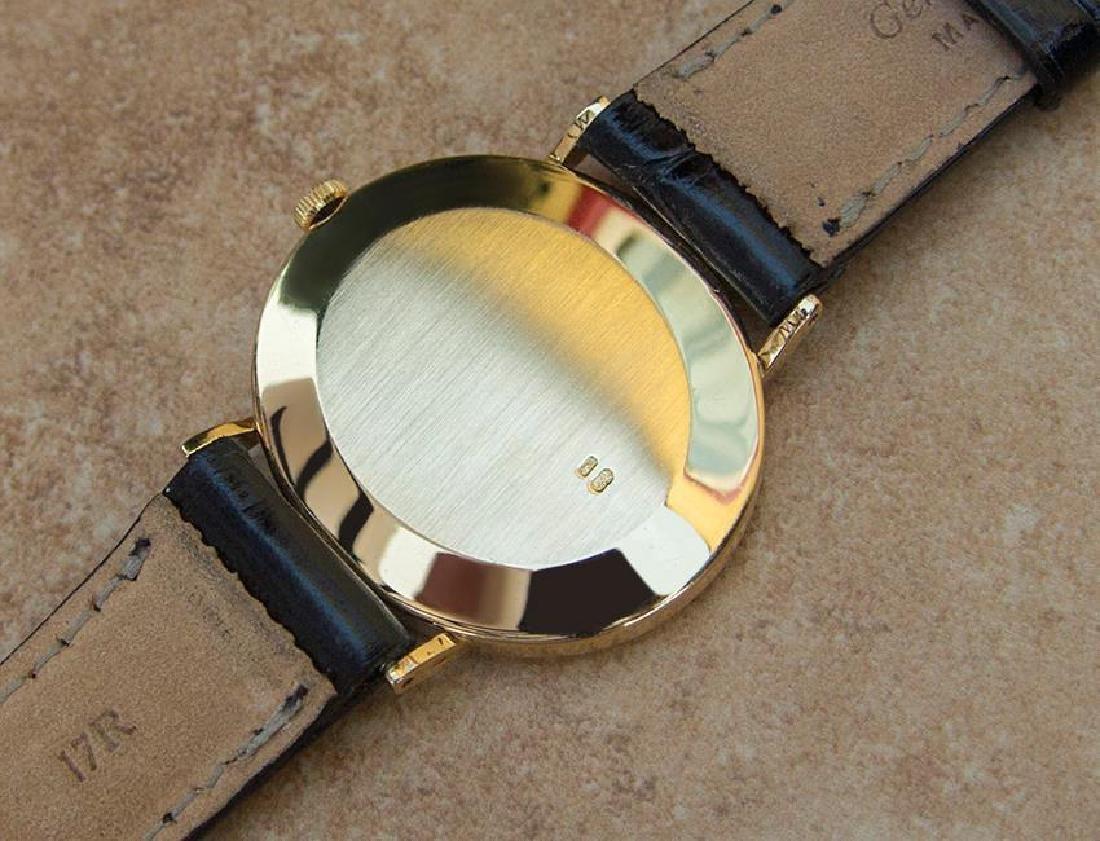 Vintage Rolex Cellini 18K Solid Gold 1970s Mens Watch - 8