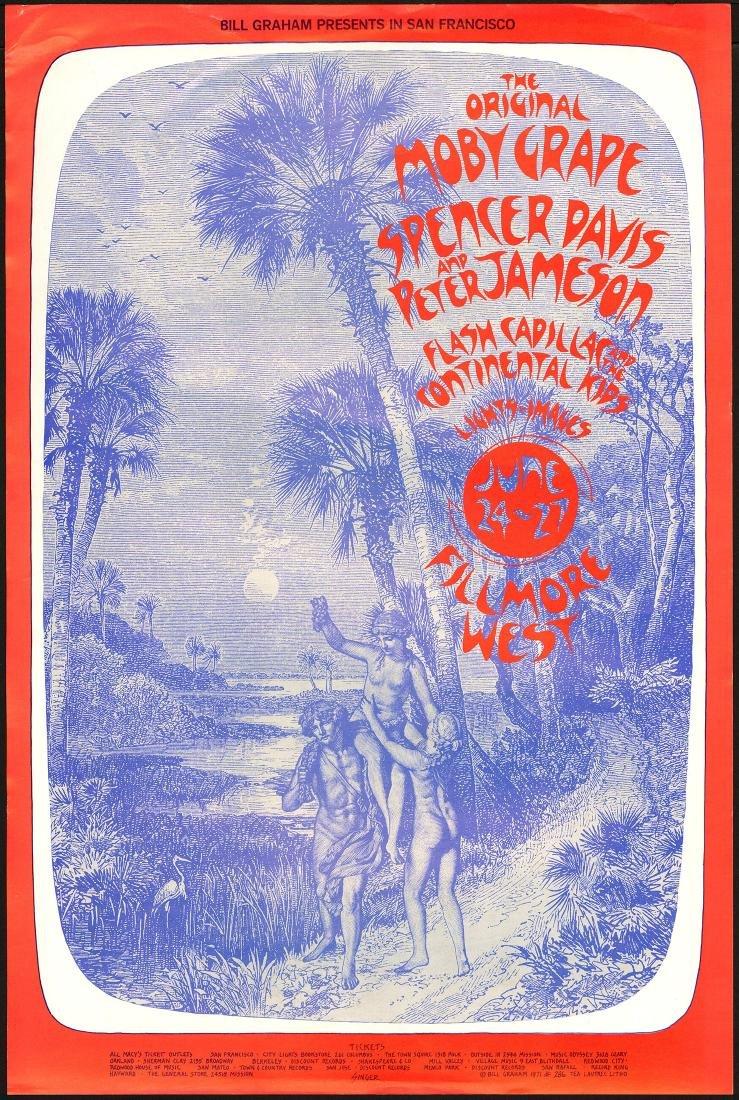 Scarce BG-286 Moby Grape Poster