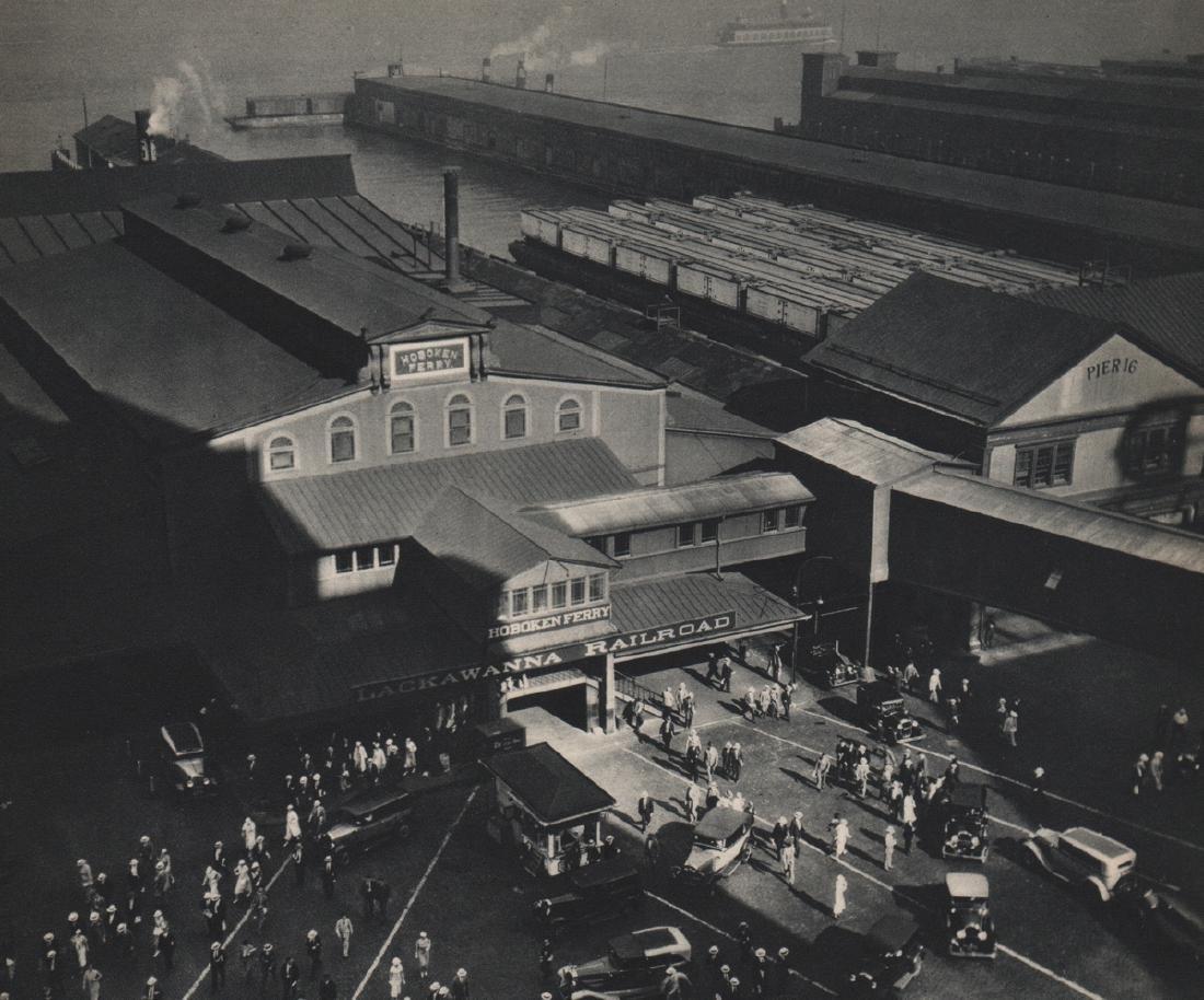 BERENICE ABBOTT - Hoboken Ferry