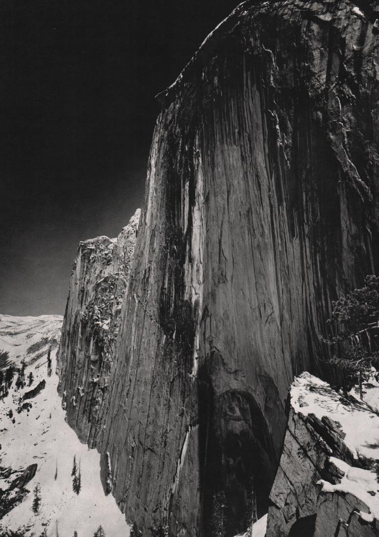 ANSEL ADAMS - Monolith, 1927