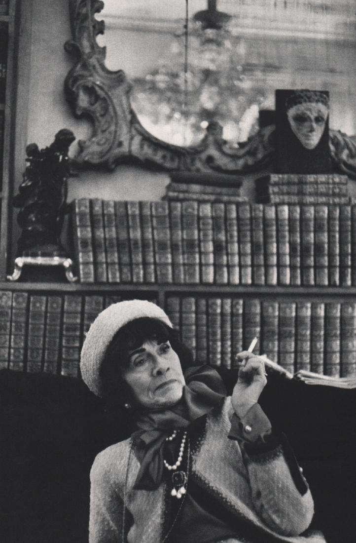 HENRI CARTIER-BRESSON - Coco Chanel