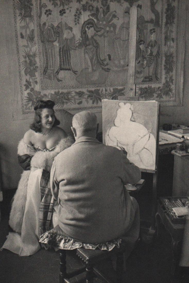 HENRI CARTIER-BRESSON - Matisse in Vence, France 1944
