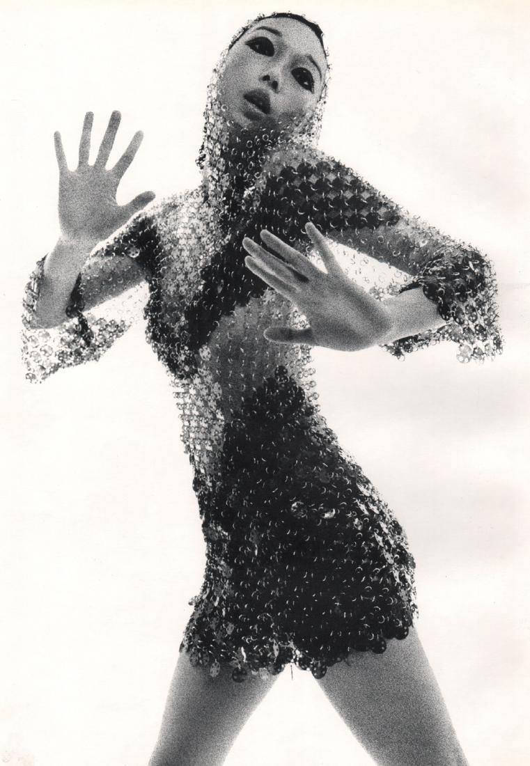 JEAN CLEMMER - Model in Chainmail