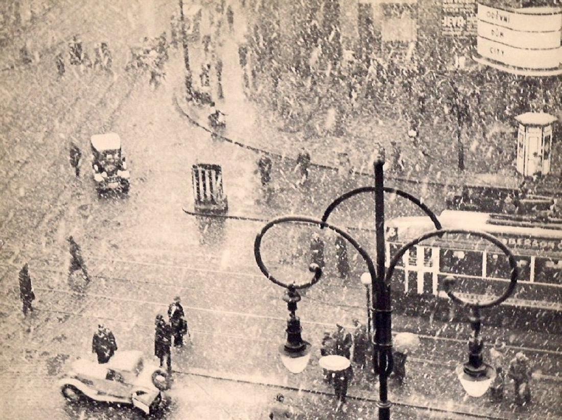 GRETE POPPER - Snowy Street Scene