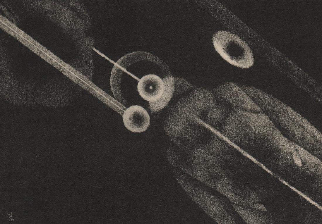 HUGO ERFURTH - Untitled Photogram