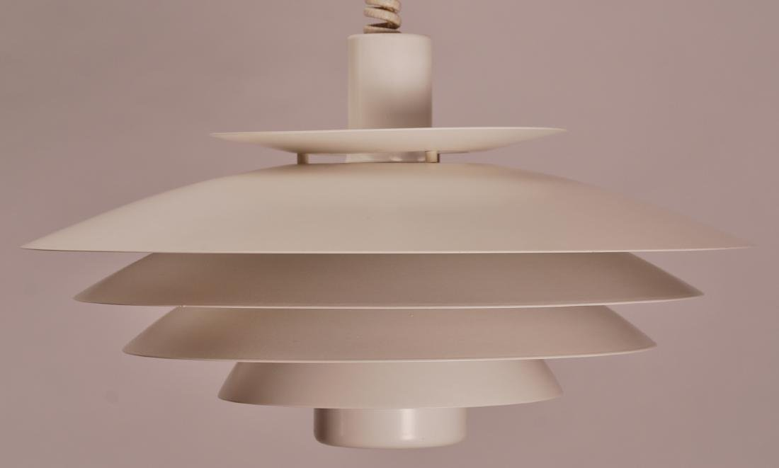 Form Light Danish Pendant Lamp, 1970s