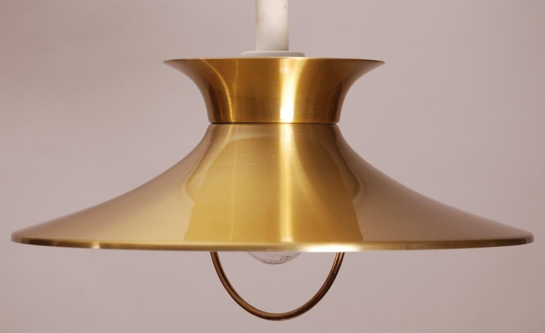 Knud Christensen Danish Pull Pendel Lamp, 1970s