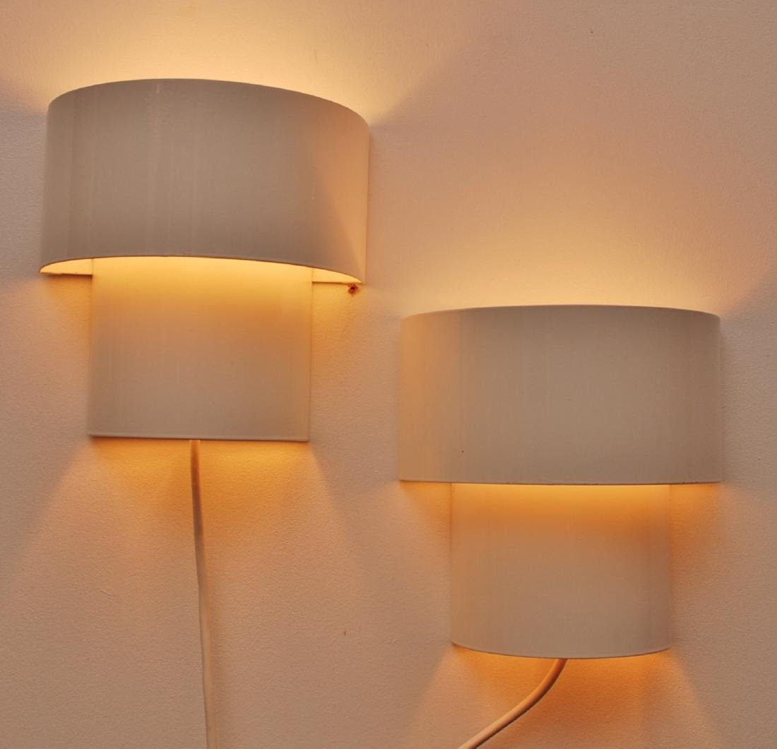 Set of 2 Nordlux Danish Wall Lamps, 1980s