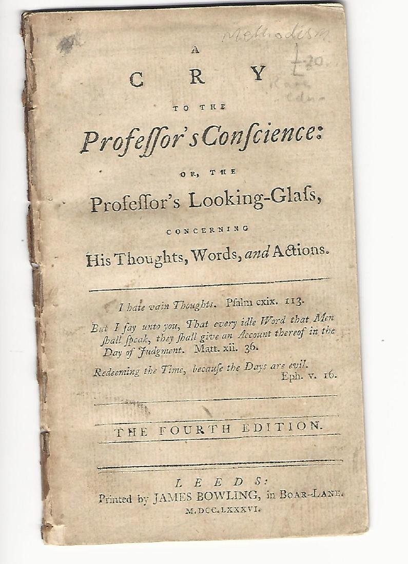 1786 A Cry to the Professor's Conscience Looking-Glass