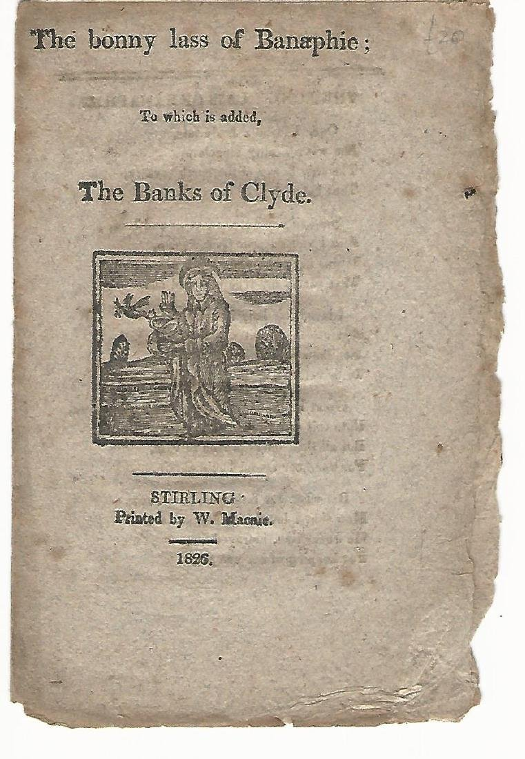 1826 The bonny lass of Banaphie: The Banks of the Clyde