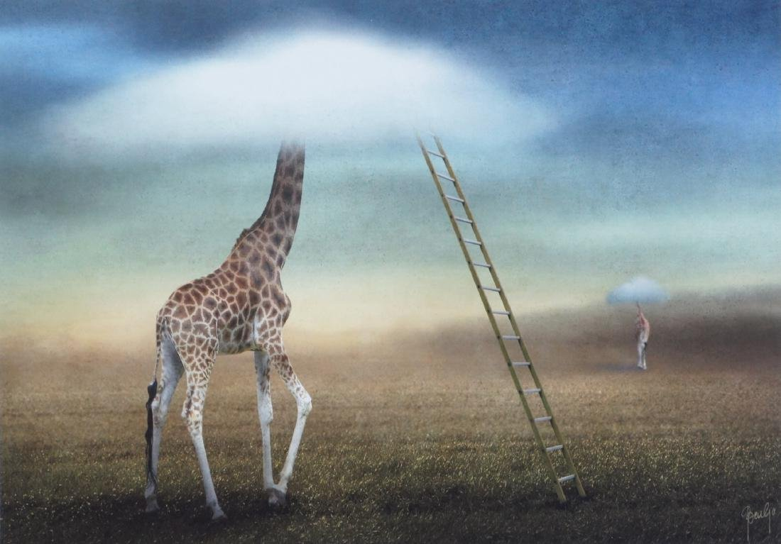 Ben Goossens Print Obscured by Clouds