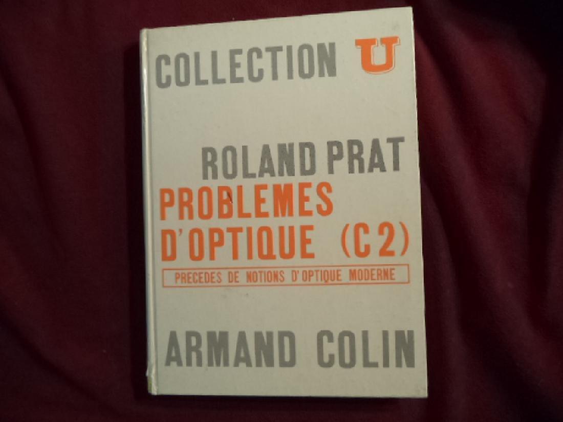 Collection U Problemes d'Optique (C2) Precedes
