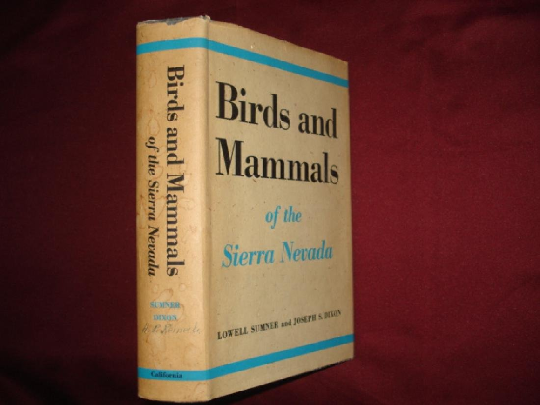 Birds & Mammals of the Sierra Nevada With Records