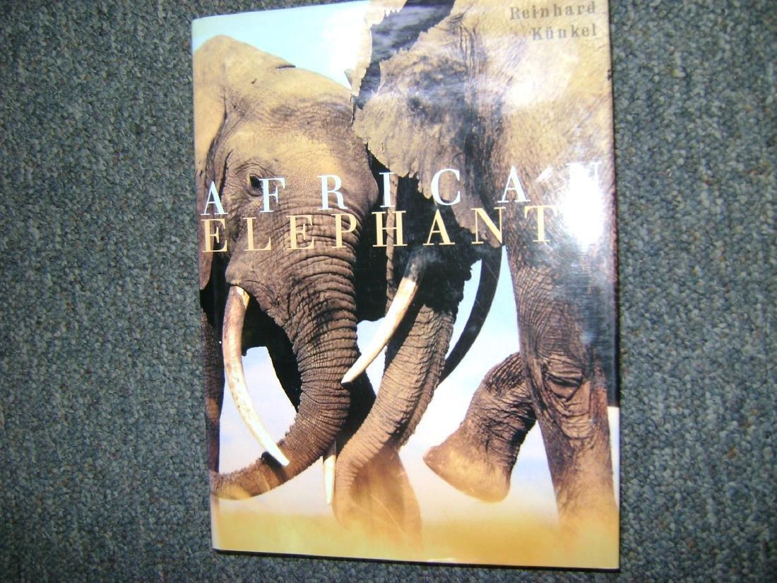 African Elephants. Kunkel, Reinhard.