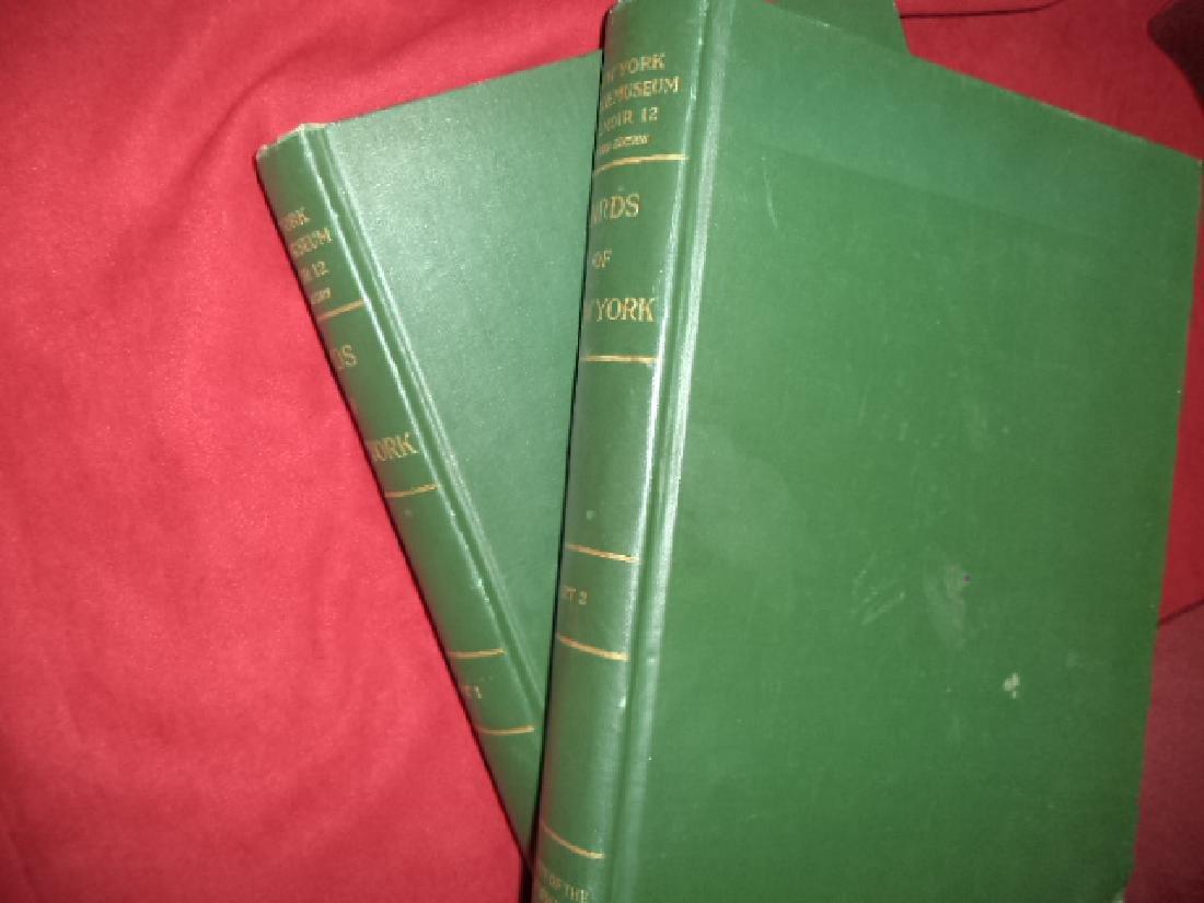 Birds of New York. 2 volumes. Eaton, Elon Howard.