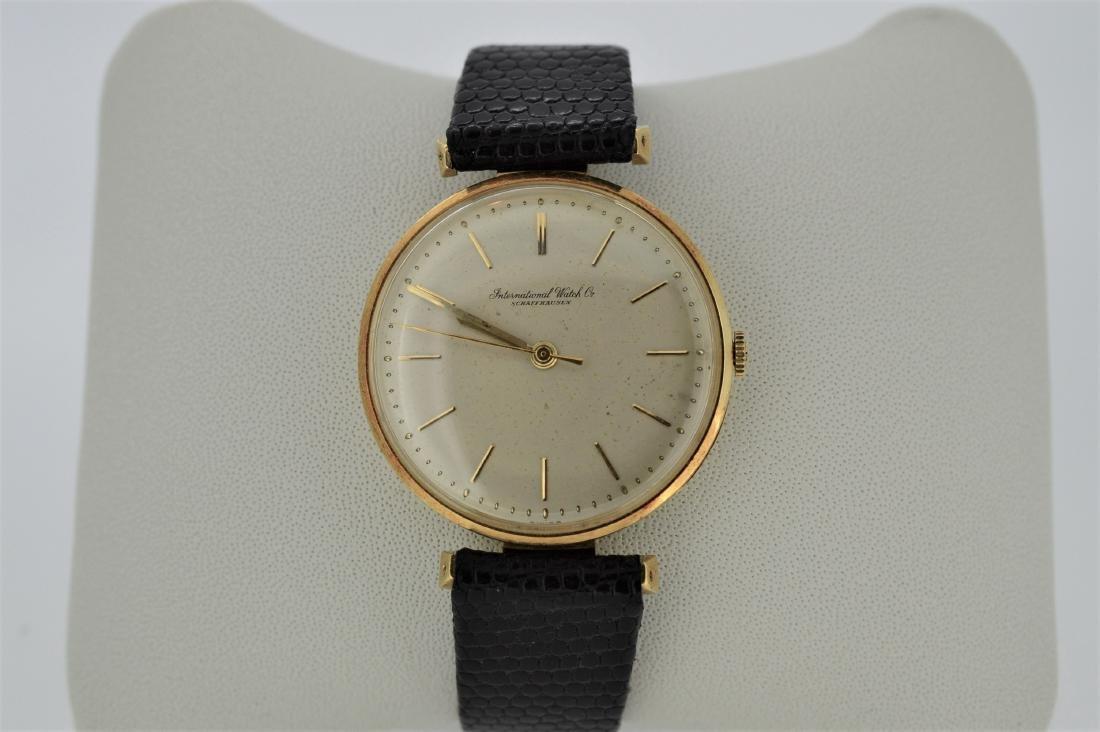 IWC Schaffhausen 18K Gold Men's Manual Watch