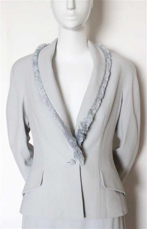 00cdac37749705 Christian Dior by John Galliano Pale Blue Suit, A/W