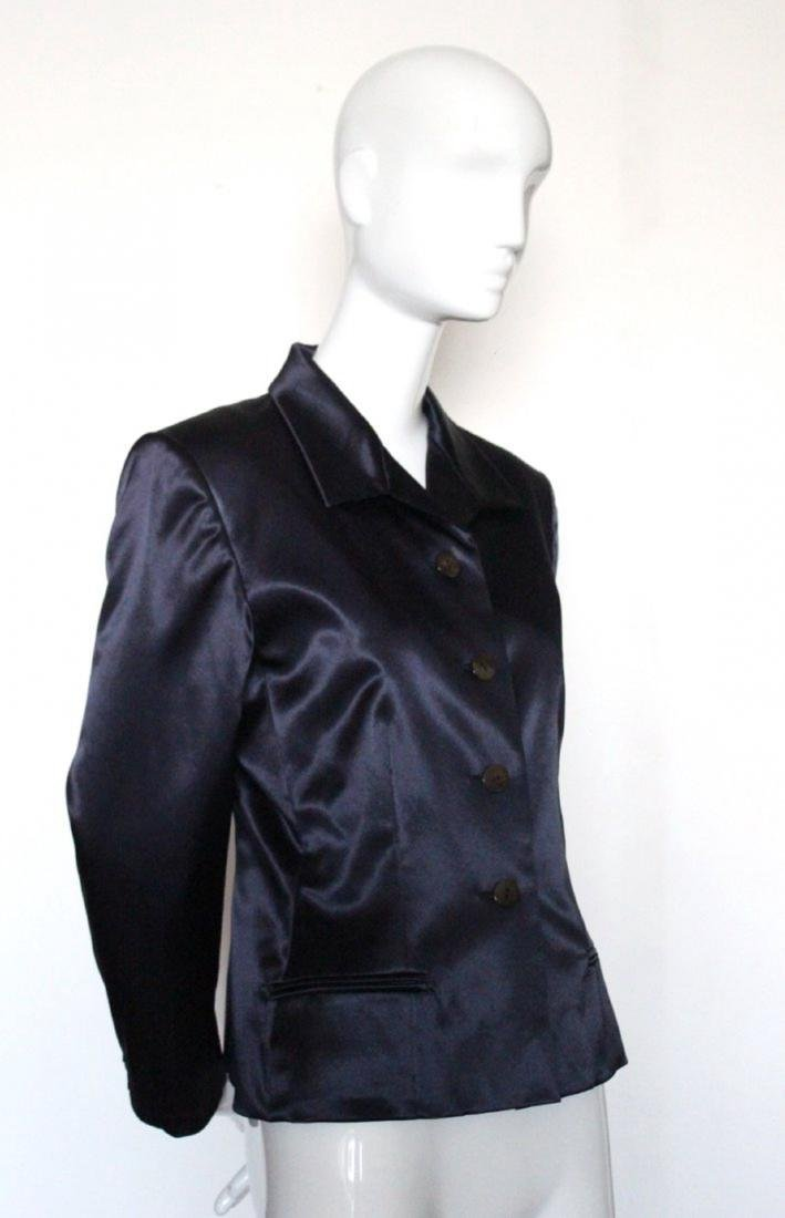 John Gallino for Givenchy Couture Satin Jacket, F/W