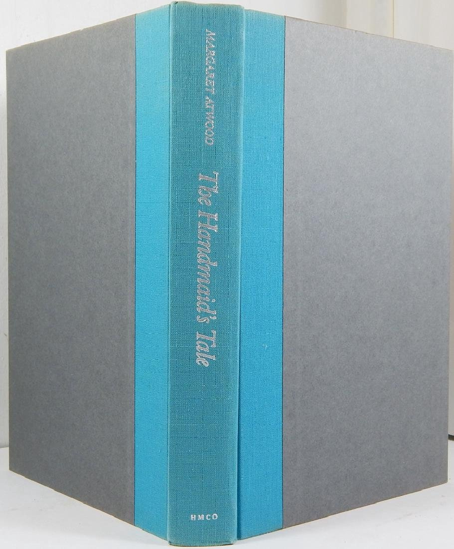 Handmaid's Tale Signed First Printing Margaret Atwood - 2