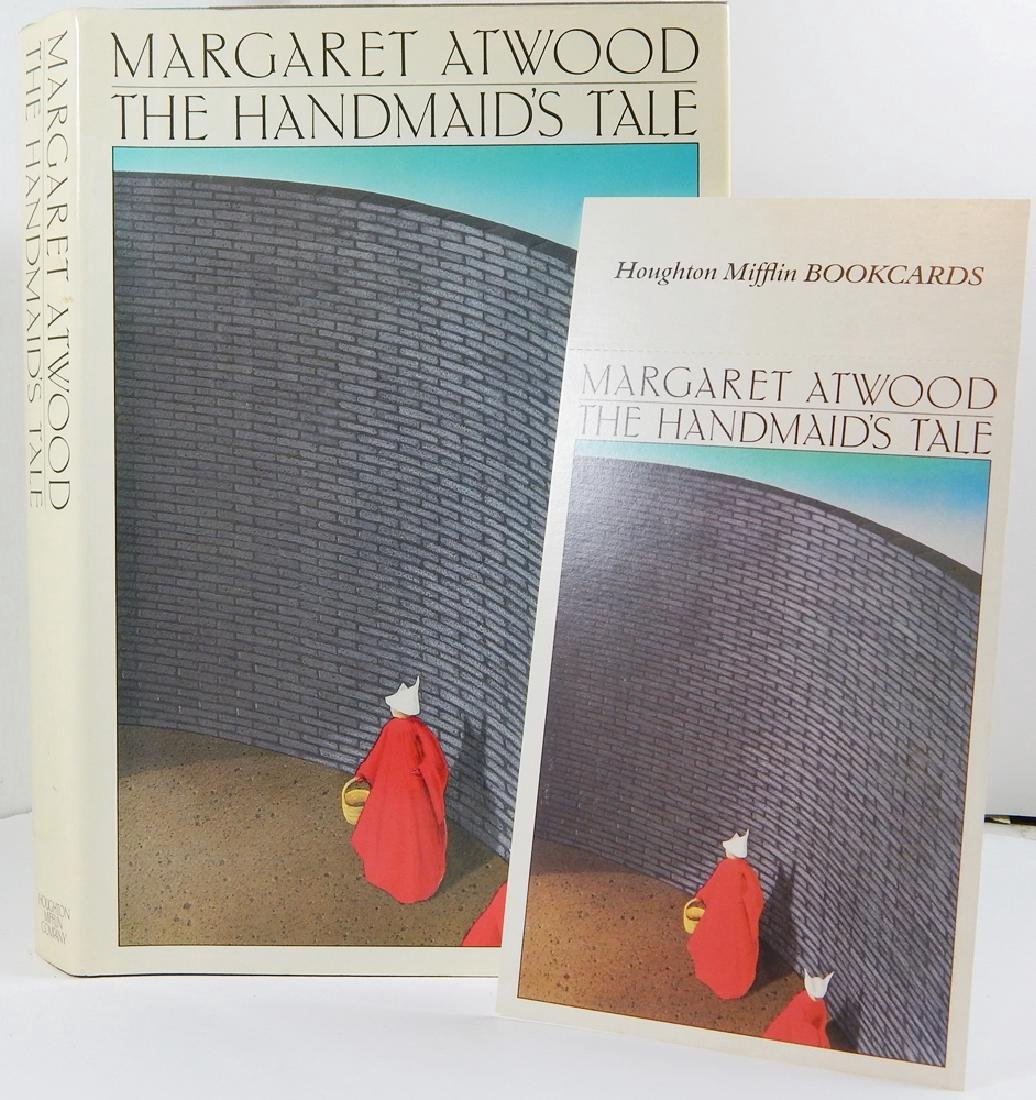 Handmaid's Tale Signed First Printing Margaret Atwood - 5