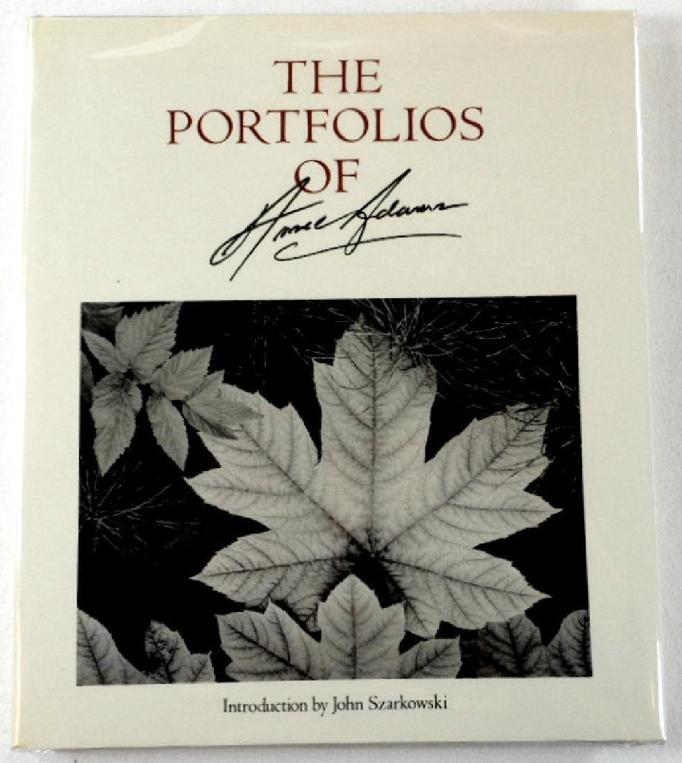 The Portfolios of Ansel Adams - Signed