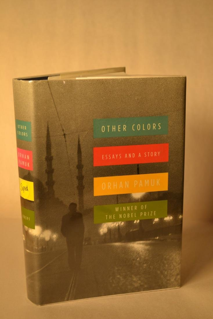 Other Colors signed Pamuk Orhan
