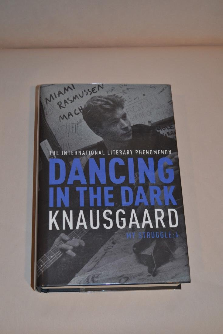 Dancing in the Dark signed Knausgaard, Karl