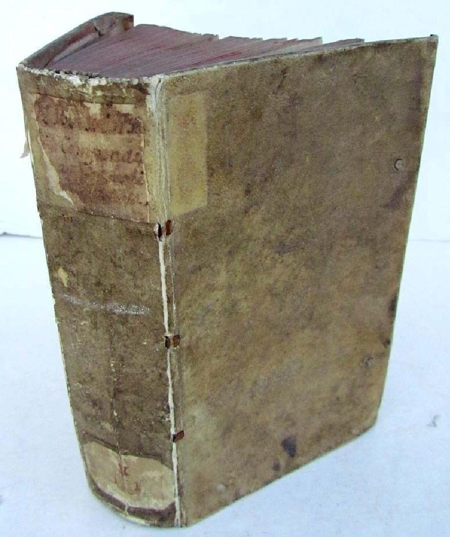 1628 Antique Vellum Bound 1st Ed Presentation Copy