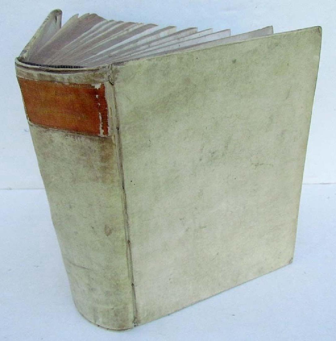 1708 Antique Vellum Bound Polyhistor by Morhof & Moller