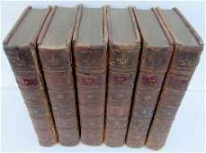 1789 Antique 6 Vols Book Set by Lucian of Samosata