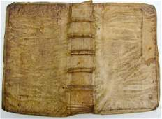1625 Vellum Bound Antique Folio Dutch Leaders in War