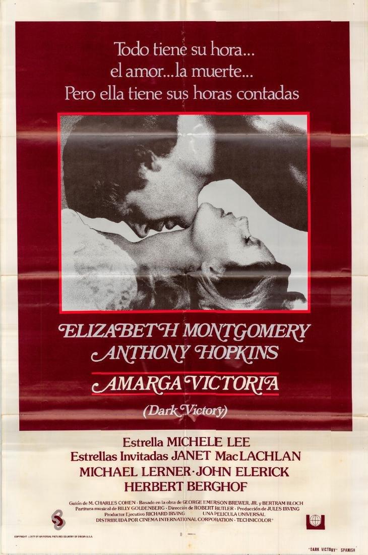 Dark Victory 1976 Spanish Poster