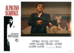 Original 1983 Scarface / Al Pacino Set of 8 Lobby Cards