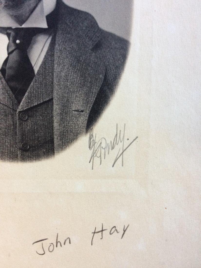 Siver Bromide Photograph of Secretary John Hay - 2