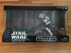 Star Wars The Power Of The Force Speeder Bike with
