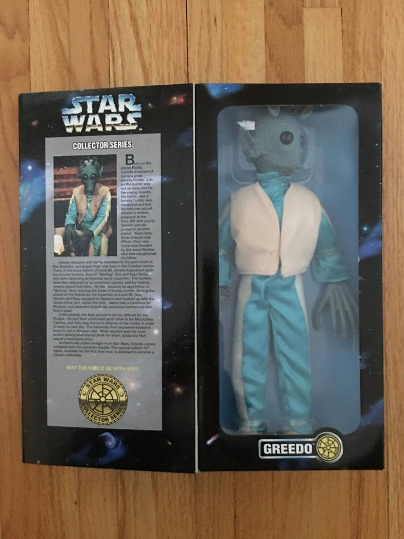 1996 KENNER STAR WARS GREEDO COLLECTOR SERIES