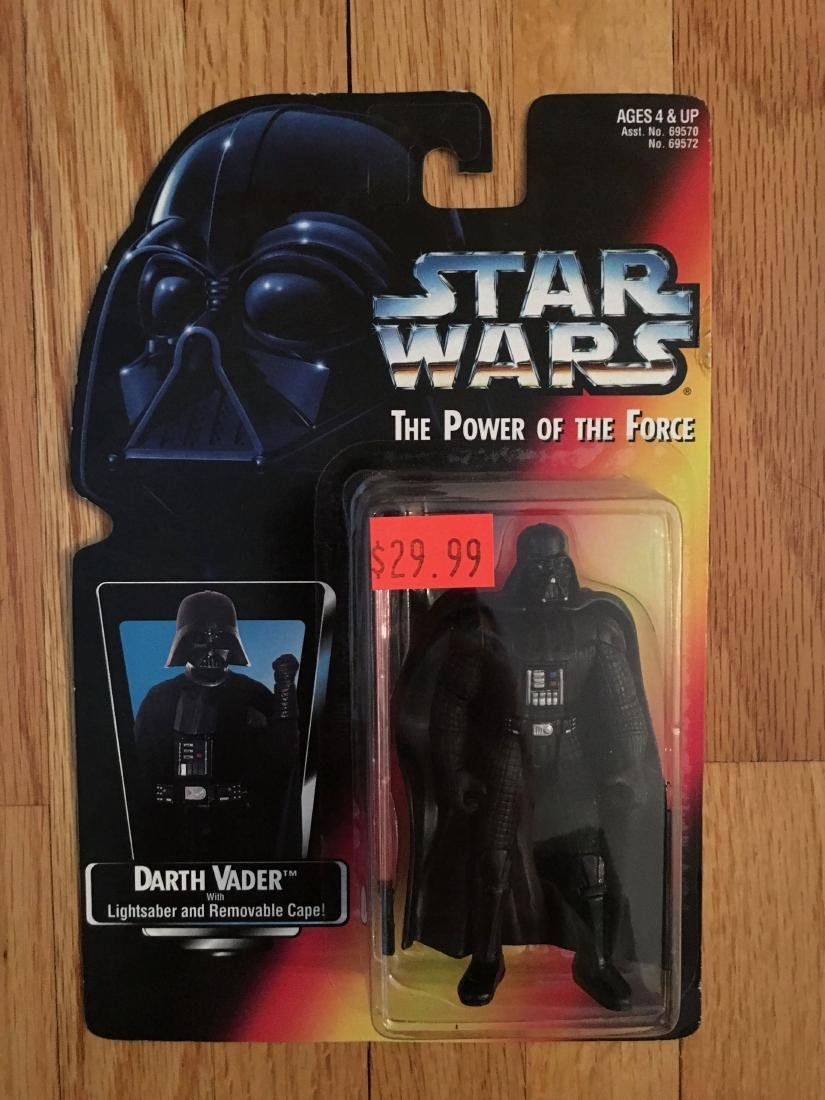 1995 Kenner Star Wars The Power of the Force Darth