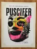 PUSCIFER Screen Print at Peabody Opera House, St.