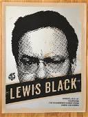 LEWIS BLACK Screen Print for Summerfest, Milwaukee, WI.