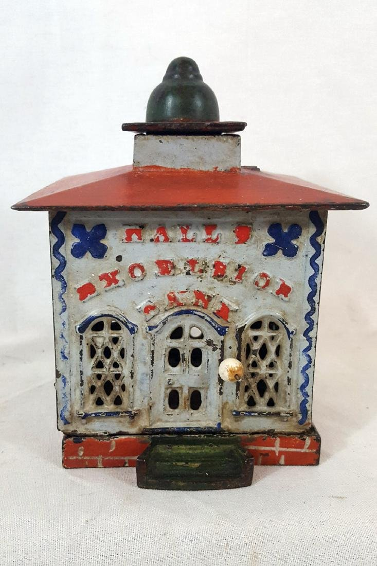 Halls Excelsior Mechanical Bank Patent 1869