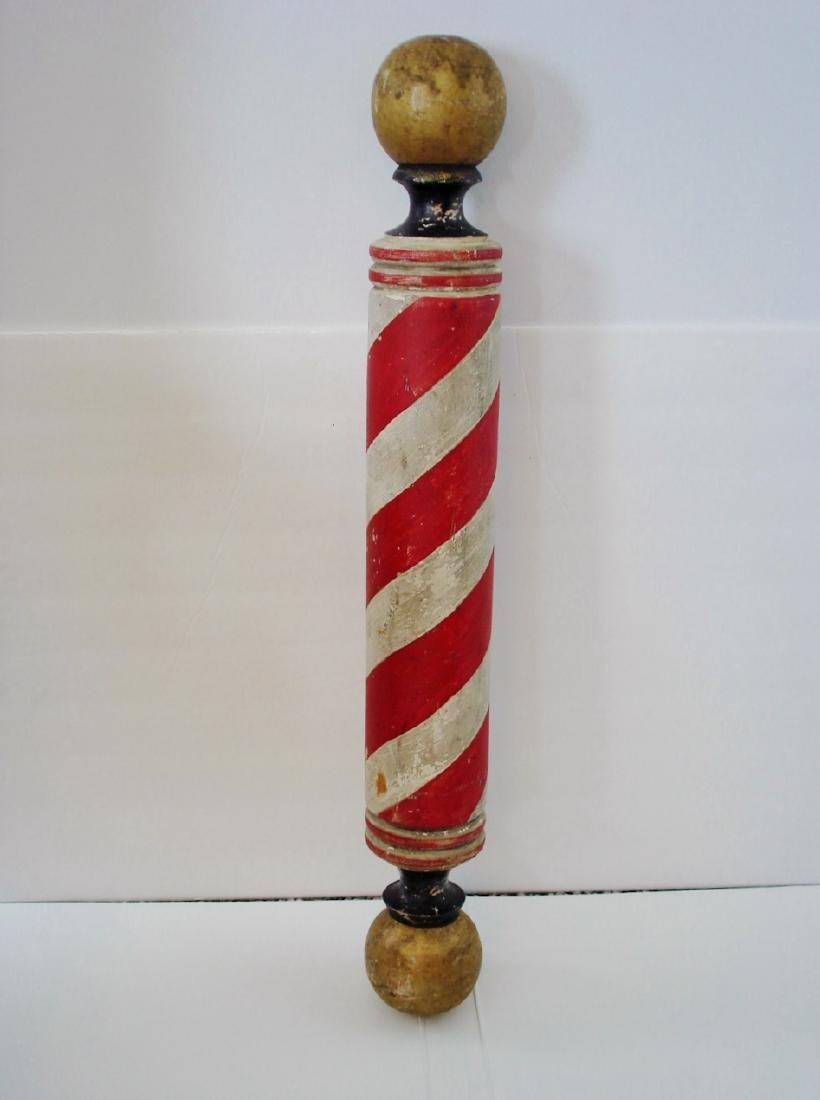 Small Hanging Barber Pole