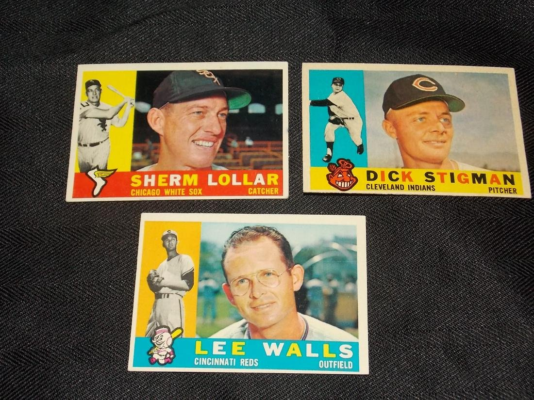 1960 Topps CARD LOT